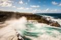 Картинка море, волны, скалы, прибой