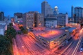 Картинка Texas, Panorama, Техас, usa, Twilight, Остин, Austin
