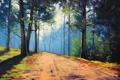 Картинка АРТ, РИСУНОК, ARTSAUS, INTO THE FOREST