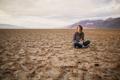 Картинка девушка, настроение, пустыня